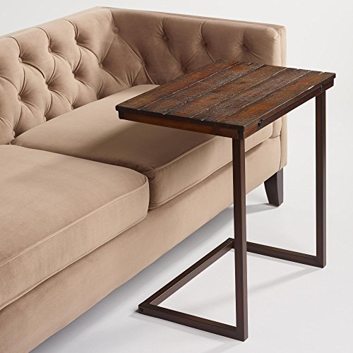 Wood Laptop Table for Couch Recliner and sofa u2013 Slide Under Couch Table Type that can be used as tray table tv table serving tables snack tables ... & Wood Laptop Table for Couch Recliner and sofa u2013 Slide Under Couch ... islam-shia.org