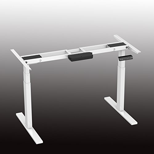 Aimezo 71 W Electric Height Adjustable Desk Base Sit To Stand Up