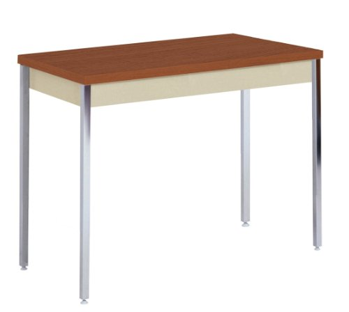 40 X 40 X 40 Square Coffee Table Ac4 Laminate Floor: Sandusky Lee AT4020-PU Putty Powder Coat Activity/Utility