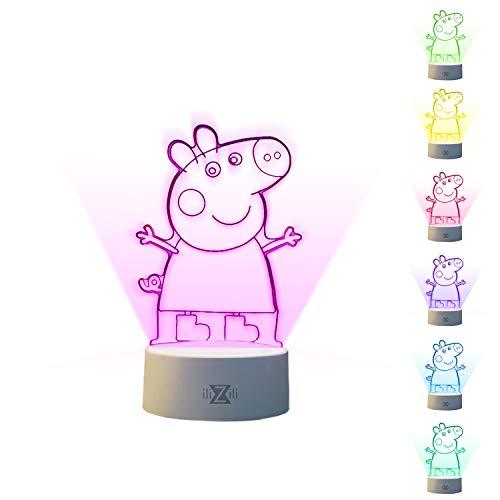 3d Light Fx Pepa Ilizili Peppa Pig 3d Lamp 3d Illusion